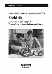 Lehrerhandreichung SEG Elektrik Grundlagen und Ergänzungen