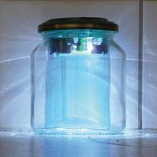 Lötbausatz für Solar-Gurkenglaslampe
