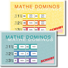 Mathe-Domino 1-100 1x1