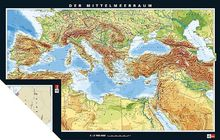 Mittelmeerländer physisch/politisch