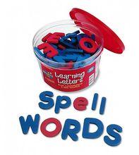 Moosgummi-Buchstaben magnetisch