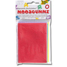 Moosgummi-Buchstaben- und -Ziffern