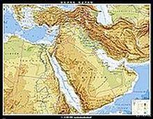 Naher Osten, physisch