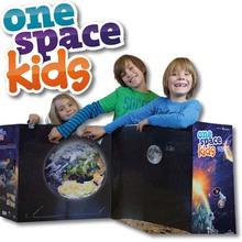 one space kids, magnetischer Weltraum-Atlas XXL