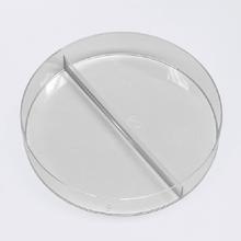 Petrischale mit Mittelsteg, 94 mm Ø/16 mm