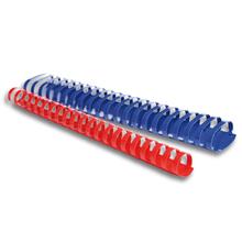 Plastikbinderücken oval