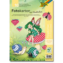 Pünktchen-Fotokarton 25 x 35 cm