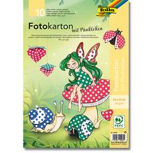 Pünktchen-Fotokarton 300 g
