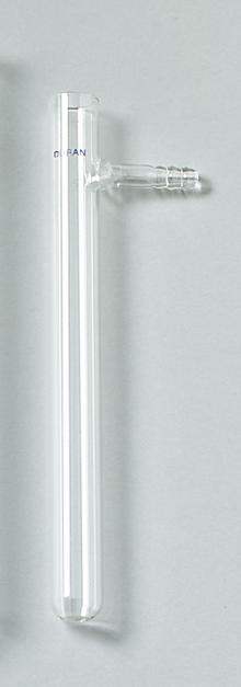 Reagenzglas, Duran, 180x18 mm, mit Ansatz