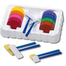 Regenbogen-Palette