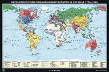 Revolutionen und Unabhängigkeitskämpfe in der Welt 1776-1860