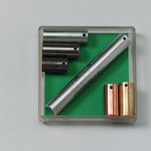 Satz(6)Metallzylinder,gl.Mass.