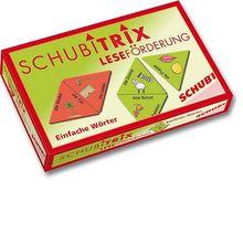 Schubitrix Leseförderung: Einfache Wörter