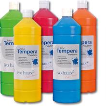 Schul- und Temperafarbe
