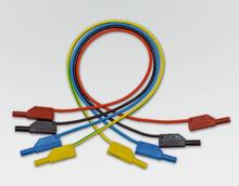 Sicherheits-Experimentierkabel, gelb/grün, 50 cm