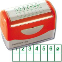 Siebdruck-Stempel Notenspiegel