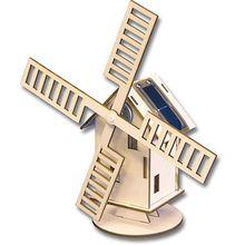 Solar-Windmühle