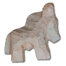 Specksteinrohling Pferd