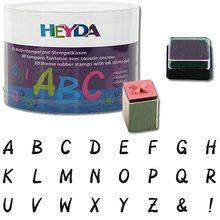 Stempelset Alphabet