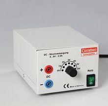 Stromvergungsgerät 1 bis 6 V, 2,5 A DC