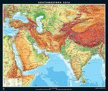 Südwestasien, physisch