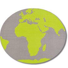 Teppich Welt rund