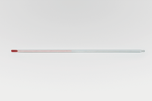 Thermometer ohne Graduierung, 0 bis +100 °C