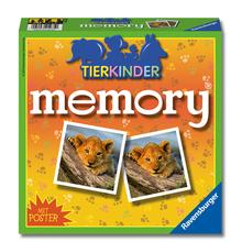 Tierkinder-Memory