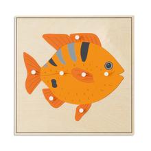 Tierpuzzle: Fisch