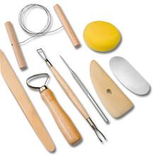 Töpferwerkzeug-Set 8-teilig