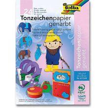 Tonpapier-Block 150 g, genarbt *Sale*