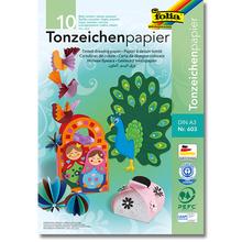 Tonpapier-Block A3