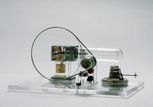 Transparenter Stirling-Motor