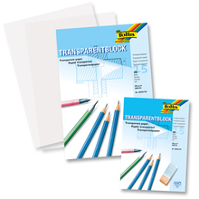 Transparentpapier-Block