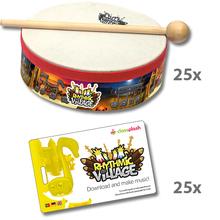 Trommel-Kiste Rhythmic Village 2 + App