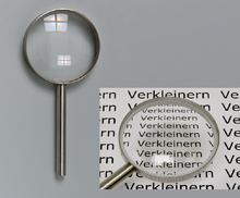 Verkleinerungsglas D= 75 mm