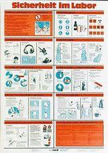 Wandtafel: Sicherheit im Labor