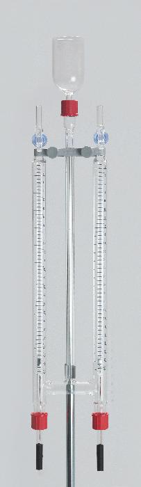 Wasserzersetzungsapparat GL 18 mit Halter