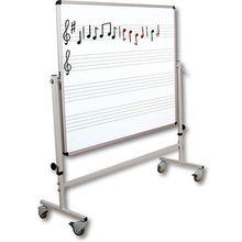 Whiteboard-Notentafel fahrbar *Aktion*