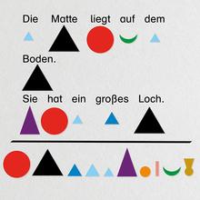 Wortarten-Symbole Pappe, 1.200 Stk.