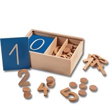 Zahlen bis 10 Sortierbox *Aktion*