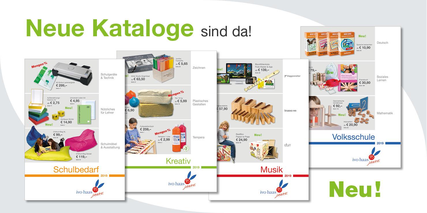 Neue Kataloge