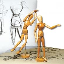 Modellpuppen, Projektoren und Airbrush