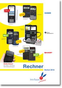 Ivo Haas Katalog - Taschenrechner / Mathe