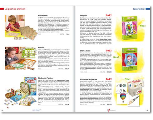 Katalog THERAPEUTISCHE UNTERRICHTSMITTEL